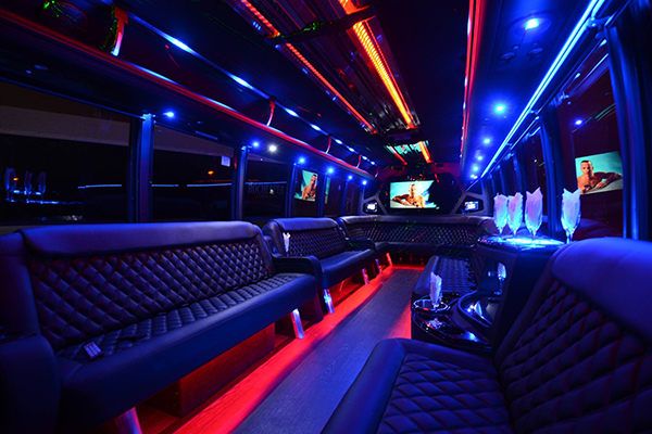 40 Person Party Bus Rental Bridgeport