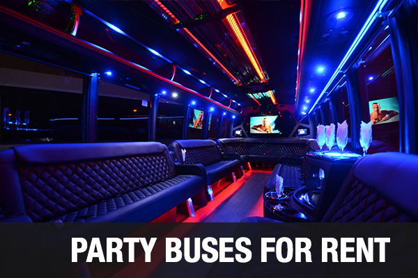Party Buses For Rent Bridgeport
