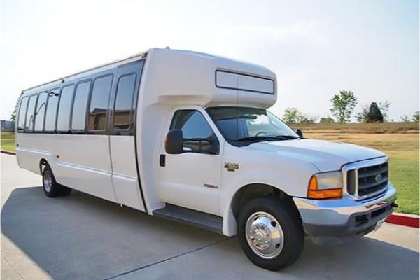 20 Passenger Shuttle Bus Rental Glastonbury