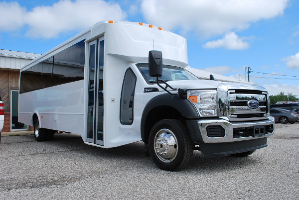 30 Passenger Bus Rental Fairfield