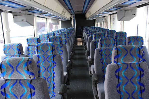30 Person Shuttle Bus Rental Darien