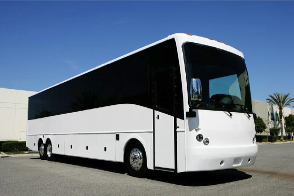 40 Passenger Charter Bus Rental Fairfield