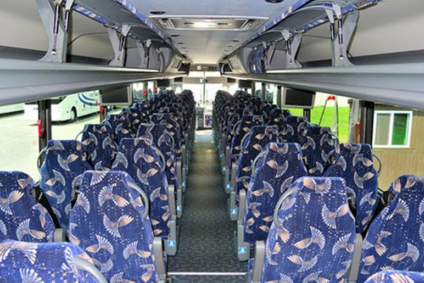 40 Person Charter Bus Fairfield