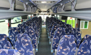 40 Person Charter Bus Glastonbury
