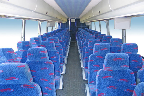 50 Person Charter Bus Rental Mansfield